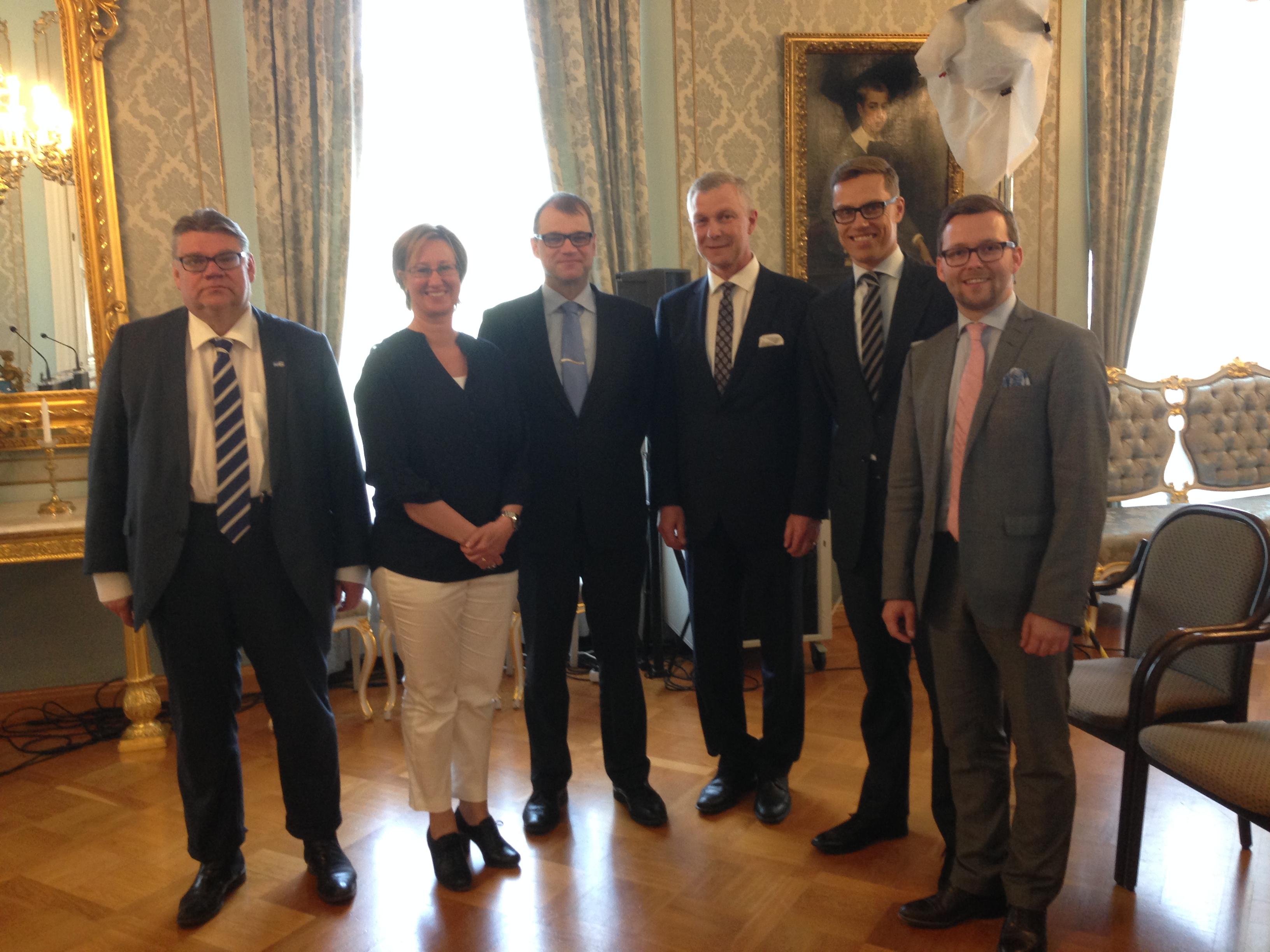 Finlands nya regering klar