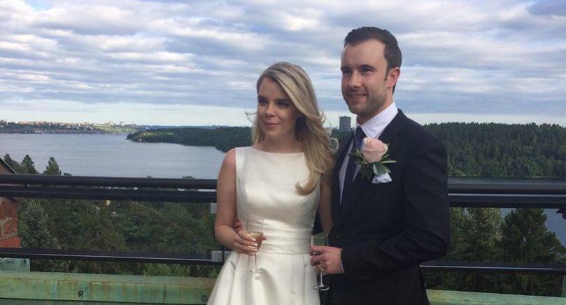 Ida Alexandra Lundmark och Victor Emanuel Eliasson vigdes lördagen den 16 juli i Danderyds kyrka  Paret är bosatt i Stockholm men brudgummen är född och uppvuxen på Åland.