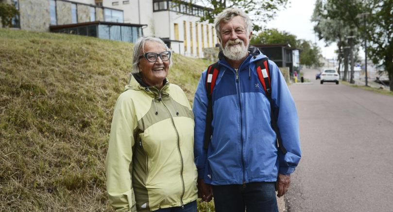 SEDAN 1958 Pake och Ilkka Aho tycker att det är ett måste att besöka Åland åtminstone en gång per år. Det har de gjort sedan 1958.