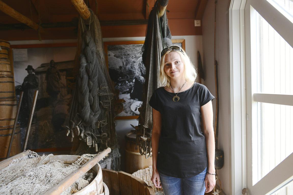 MUSEIFAN Magdalena Felis har besökt både Ålands museum och Jakt- och fiskerimuseet. Själv jobbar hon på ett museum i hemstaden Posnan i Polen.