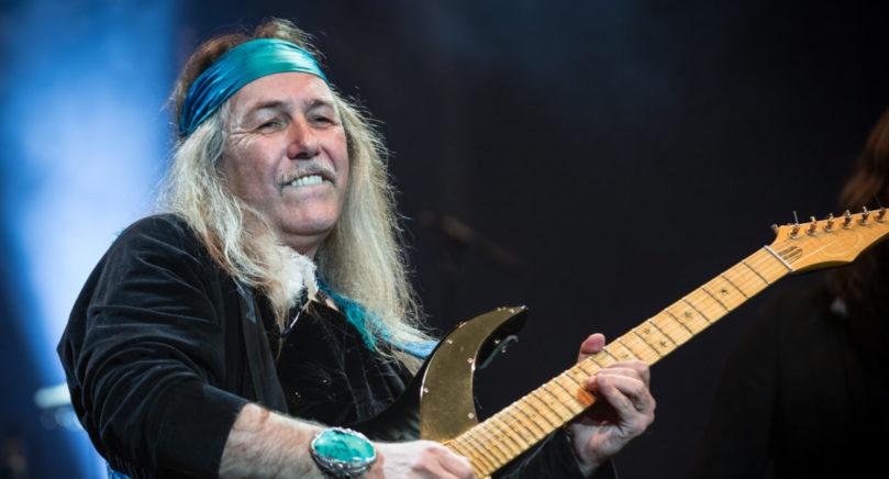 "SOLOSKORPION Uli Jon Roth, 61, hade som tonåring smeknamnet ""Jimi"" efter sin idol Jimi Hendrix."