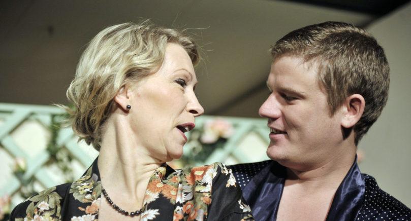 RADARPAR Annelie Åkerblom och Jonas Danielsson har spelat i ett flertal uppsättningar tillsammans, här i Private Lives.