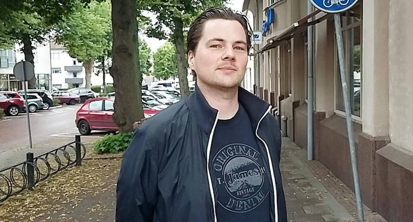 INFLYTTAD Jonas Rosbäck blev positivt överraskad när han flyttade till Åland.