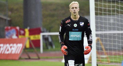 """""""ENORMT"""" Walter Viitala menar att en landslagsplats skulle betyda enormt mycket b�de f�r honom sj�lv och f�r IFK Mariehamn."""