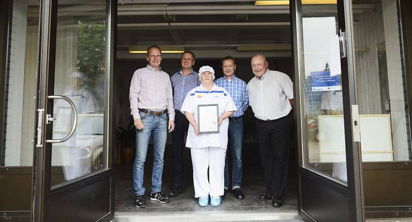 ÖPPNAR NYA DÖRRAR Ålandsmejeriet har som förmodat första mejeri i Finland mottagit ett certifikat för den globala standarden i livsmedelssäkerhet.