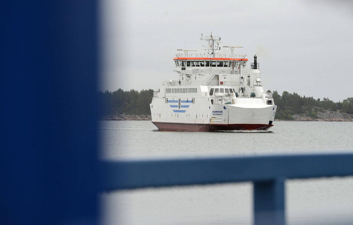 UR TRAFIK Skarven tas ur trafik mellan 18 september och 2 oktober.