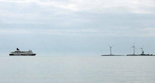 LANDSKAPSST�D Vindkraftverken p� B�tsk�ren har beviljats retroaktivt st�d f�r produktionen.