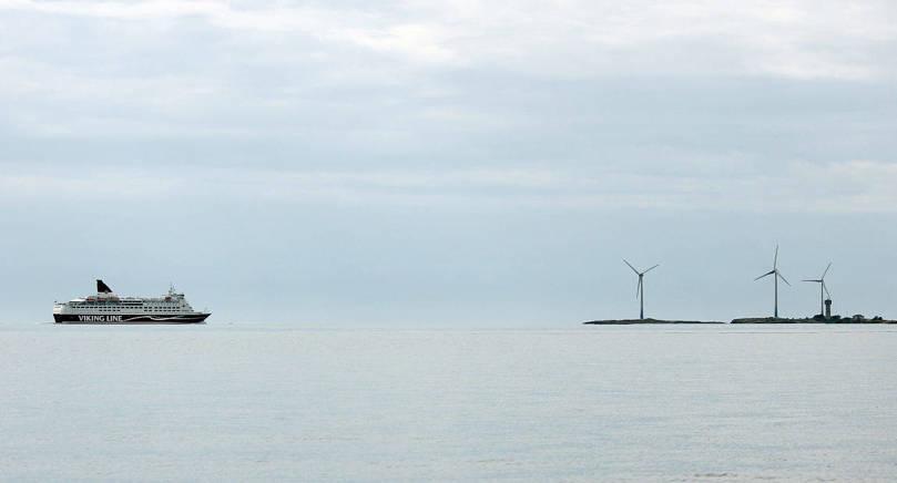 LANDSKAPSSTÖD Vindkraftverken på Båtskären har beviljats retroaktivt stöd för produktionen.