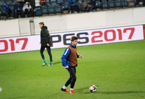 DEBUTANT? Albin Granlund kan få landslagsdebutera mot Island eller Kroatien nästa vecka.