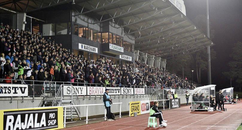 FOLKFEST IFK Mariehamn går för guldet i Veikkausligan och till söndagens hemmamatch mot Ilves väntas storpublik.
