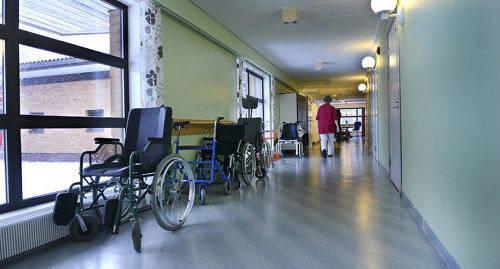 L�GGS NED Demensavdelningen p� �HS l�ggs ned. Men demenssjuka ska �nd� f� sjukhusv�rd p� �land.