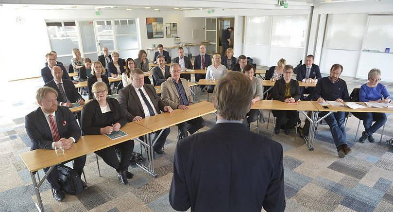 SISTA STÄMMAN Pafs bolagsstämma i maj i år blev den sista med Jarl Danielsson som ordförande,       en post som han haft i många år.