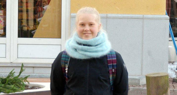JULHANDEL Dagens ålänning är Elvira Lobråten och hon är tidigt ute i kylan för att handla julklappar.