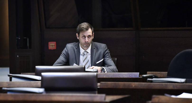 RÖSTADE Fredrik Fredlund (Ob) och de övriga oppostionspartierna var överens i flera frågor, men majoriteten i lagtinget röstade ner budgetmotionerna.