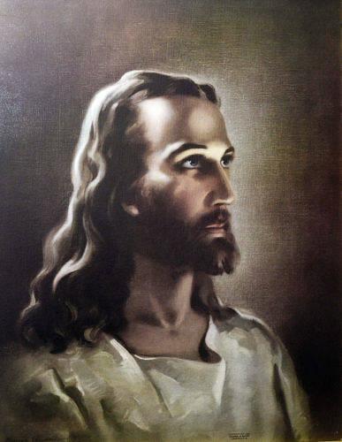 JESUSBILD världens mest spridda bild av Jesus har målats av sakralkonstnären Warner Sallman med rötter på Föglö.