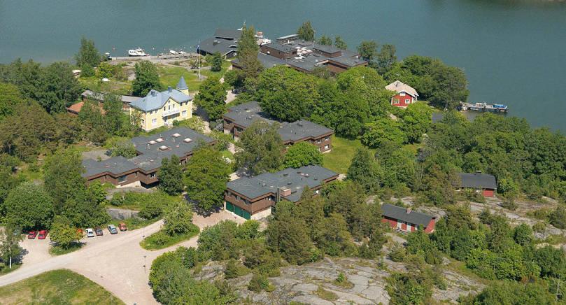 FORSKAR Tvärminne zoologiska station vid Helsingfors universitet studerar mångfalden och ekosystemets funktion samt den mänskliga påverkan i Östersjön. Foto från hemsidan
