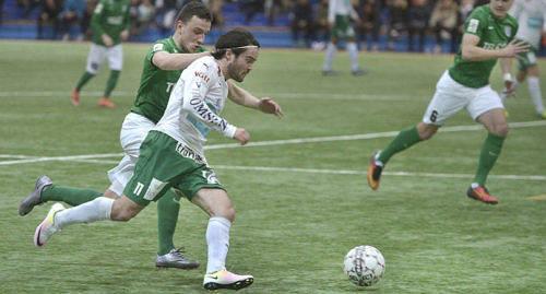 FART Enligt Robbin Sellin är det hans snabbhet som kännetecknar honom bäst som fotbollsspelare. Den visade han också prov på mot FC Flora.