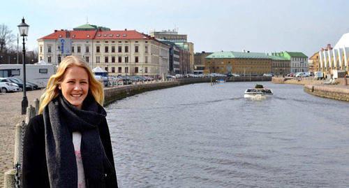TILLBAKA Adelina Engman är nu tillbaka i Göteborg efter januariturnén med finska damlandslaget.