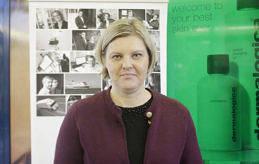 BRA TILLFÄLLE Ann-Christine Silander tycker att Jobbchansen är ett bra tillfälle att komma i kontakt med människor.
