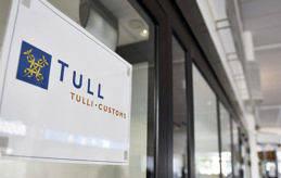 KUNDSERVICE Tullen minskar på den personliga kundservicen i sexton tullkontor, bland annat i Mariehamn.