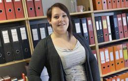 NYTILLSKOTT Sara Schütten är ny ekonomiansvarig på Nyan. Hon började förra veckam men säger att hon redan trivs bra.