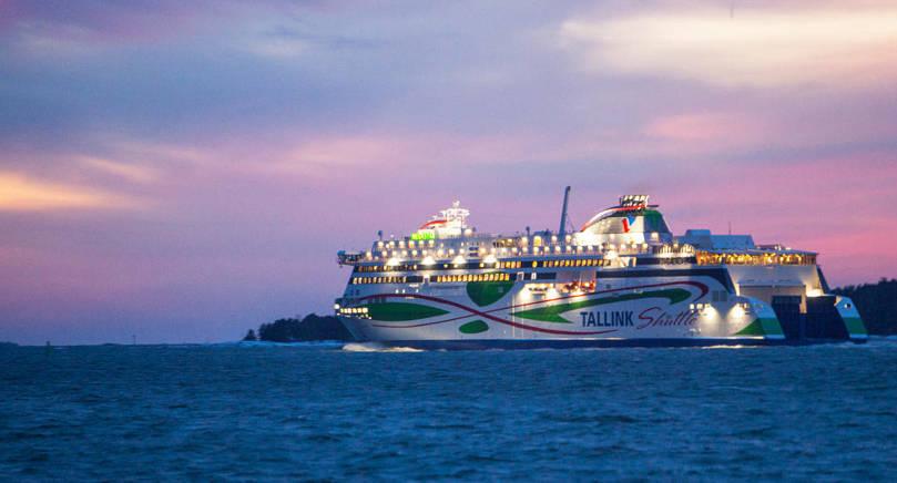 FRAMGÅNG Tallink Silja prisas för sina kryssningssatsningar. På bilden syns koncernens nytillskott LNG-fartyget Megastar på sin jungfrutur i januari i år.