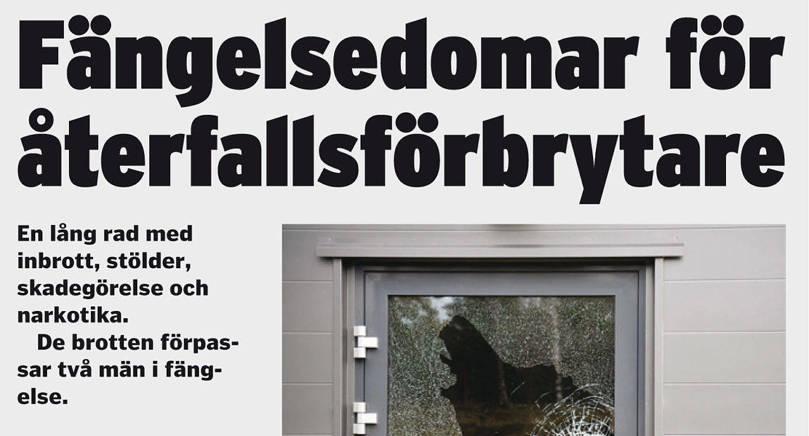 I maj 2016 berättade Nya Åland om domen mot 38-åringen och dennes kumpan.