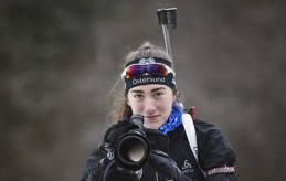 PÅ PLATS I SLOVAKIEN Jenny Fellman anlände till Slovakien i söndags och gör sin första JVM-tävling på torsdag.