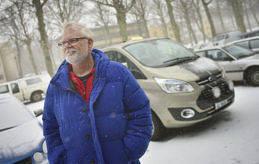 SLUTAR Per-Sune Söderlund lägger ner Söderby taxi.