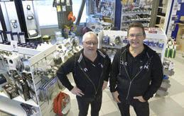 ALLT FÖR BÅTEN Peter Williams (vd) och Steve Elimä (vice vd) öppnar snart sin nya butik på Skarpansvägen.