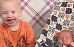 Andreas föddes den 23 januari klockan 13.57. Han mätte 50 cm och vägde 3480 gram. Storebror heter Alexander och föräldrarna är Anette Stam och Tommy Eriksson. Familjen bor i Mariehamn.