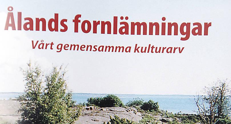 VEMS ANSVAR? Kära politiker. Livet skulle vara lättare för er om ni överlät ansvaret för våra fornlämningar till Helsingfors som det tidigare var, skriver insändarskribenten.