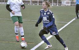 FÖRSTA MÅLET Florin Wagner gjorde 1-1 borta mot IK Uppsala, tyskans första mål i Åland United.