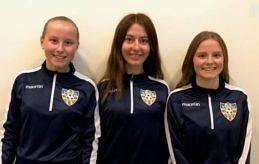 FÖRSTÄRKER Åland United breddar sin trupp med IFK-trion Elsa Viktorsson, Alva Kahnberg och Selma Viktorsson.