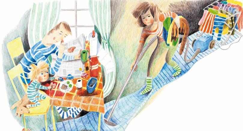 BÅDE OCH Hannmari Ruohonen har både skrivit och illustrerat boken.