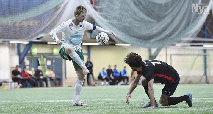TILLBAKA Lagkapten Jani Lyyski fanns inte med i matchtruppen mot FC Inter senast på grund av sjukdom. Nu, när IFK Mariehamn möter HJK i kvartsfinal av Finlands cup, är han tillbaka.