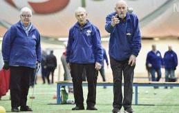 MERITERADE Ek-Boule lag 4 har spelat tillsammans sedan 2000 och har flera titlar på meritkontot. I laget ingår (från vänster): Birgit Mattsson, Ingmar Mattsson och Hans Heino.