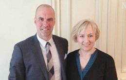 MINISTERTRÄFF Utbildningsminister Tony Asumaa och Helene Hellmark Knutsson, minister för högre utbildning och forskning, möttes i går för att diskutera ålänningars studier i Sverige.