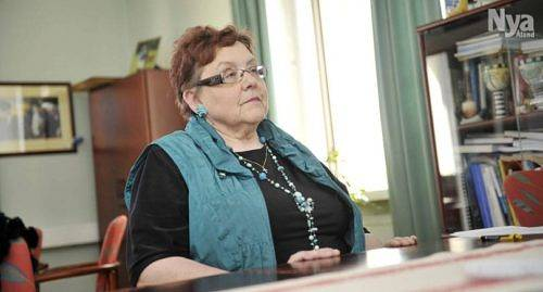 FÅR MEDALJ Medis rektor Leena Raitinen har premierats för sitt arbete för svenskheten.