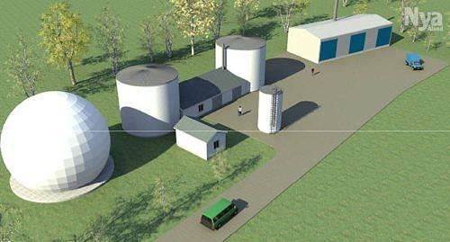 EU-FINANSIERAT ÅCA:s biogasanläggning i Jomala har delvis fiannsierats med pengar från europeiska regionala utvecklingsfonden. Grafik: GOODTECH