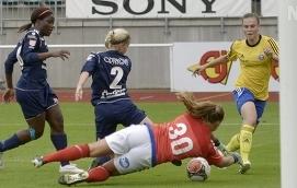 FÖRLUST Åland United förlorade stort i Helsingfors. Hemmalaget HJK vann med hela 7-1 i säsongsavslutningen.