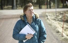 BEREDD MED PAPPER OCH PENNA Snart börjar Anki Schåman rapportera till Nya Åland från sin barndomstrakt, skärgårdskommunen Kumlinge.