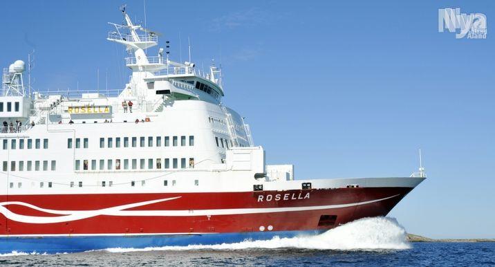 RÄTTSSAK Rosella var ute på öppet hav innan felet med bogvisiret var åtgärdat.