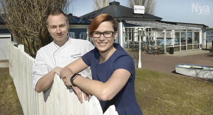 KRÖGARPAR Johan och Tiina Kreku är nya krögare vid Club Marin.