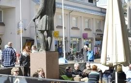HETT OMRÅDE Inflyttningen till centrala Mariehamn ökade i fjol.
