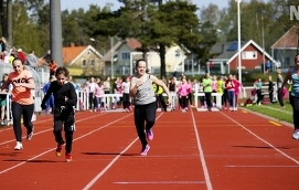 ÅTERKOMMER Skolmästerskapen i friidrott är tillbaka. Bilden är från tävlingen 2015.