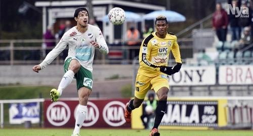 TAR EMOT VPS Gabriel Petrovic och hans IFK Mariehamn spelar hemma mot Andre Clennons VPS på söndag.