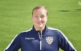 GLAD Jenny Danielsson är förväntansfull och säger sig framför allt vara glad över att äntligen få ansluta till Åland United.