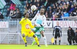 SAKNAS Enligt huvudtränare Peter Lundberg kommer Anthony Dafaa Clement inte att ingå i matchtruppen mot FC Lahti i kväll.