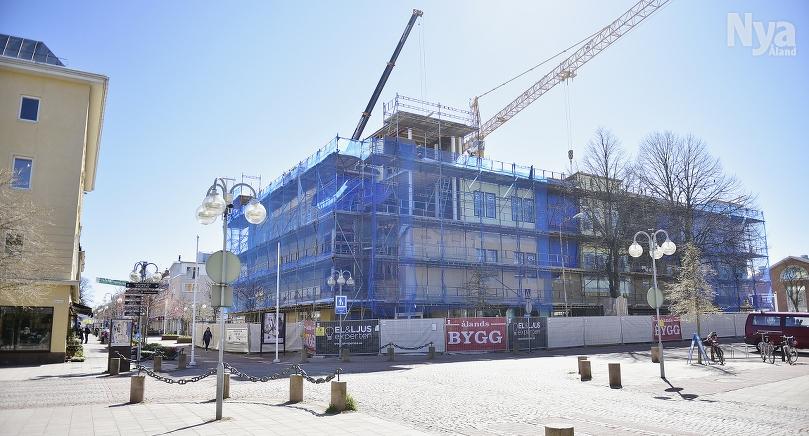 ÖPPNAS SNART Varuboden City öppnar i de renoverade utrymmena på Magazinhusets gatuplan där Citylivs tidigare fanns.